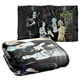 Trevco The Munsters Family Silky Touch Super Soft Throw Blanket 36' x 58'