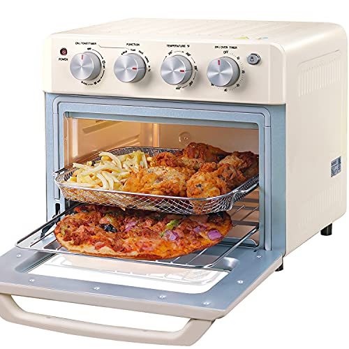 DAWAD Air Fryer Toaster Oven, Compact Small Convection Oven...