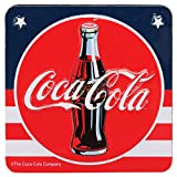 Open Road Brands Coca-Cola Vintage Amerikanische Flagge Stil Zinn Magnet – ein...