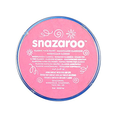 Snazaroo Classic Face and Body Paint, 18ml, Pale Pink, 6 Fl...