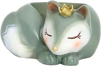 gazechimp Criativo Animal Castiçal Colecionável Ornamento Expositor Objetos Decorativos Suporte de Vela de Resina para Res...