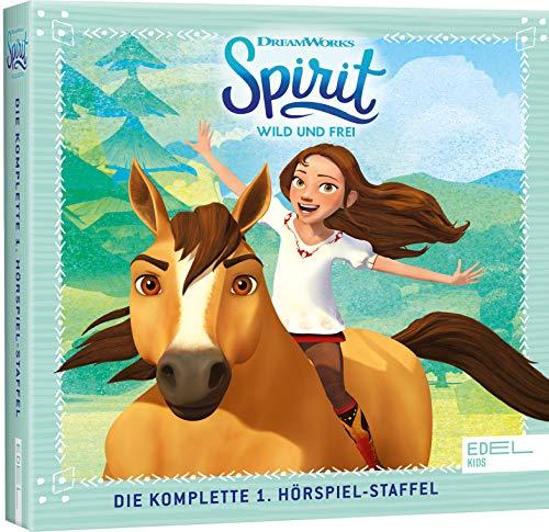 Spirit: wild und frei - Staffel-Box (1-26) - Die Original-Hörspiele zur TV-Serie (Ltd. Edition mit Haargummis) (Exklusiv bei Amazon.de)