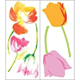 Blue Mountain Wallcoverings Snap1020 Snap Instant Wall Art, Tulip Mania
