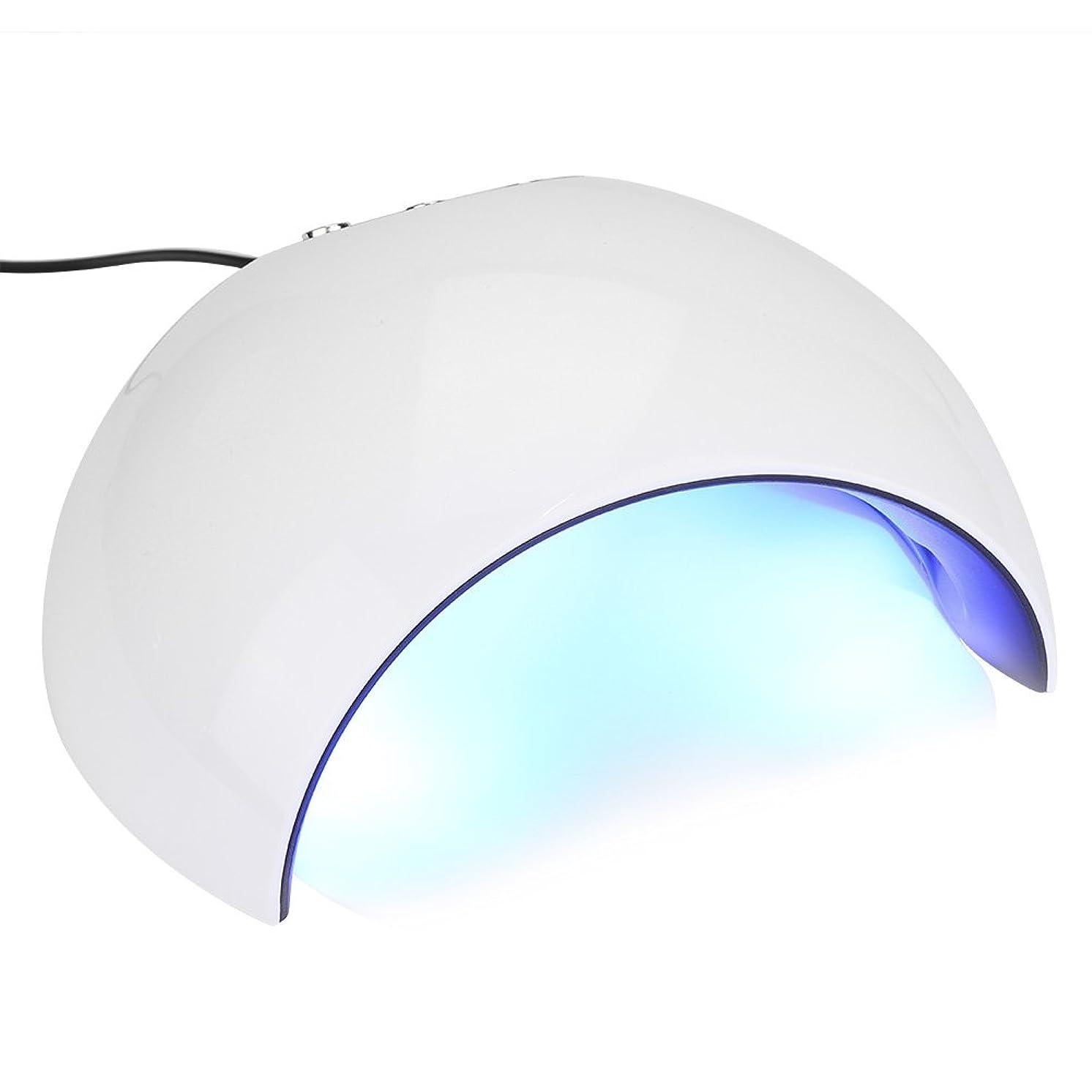 専門知識サーバント起業家24Wネイルドライヤー - 3タイマー60秒、90秒、120秒のUV LEDネイルランプ