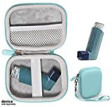 getgear Asthma Inhaler Holder case, Compact and Sturdy case for Handy Ventolin Inhaler for Adults and Kids (CASE ONLY)