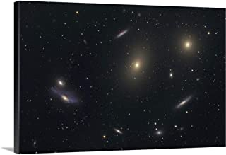 GREATBIGCANVAS Gallery-Wrapped Canvas The Virgo Galaxy Cluster Known as Markarians Chain by Roth Ritter 18