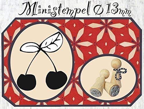 Zwergenstempel Kirsche, Ø13mm, fast 400 lustige Stempel-Motive im Shop