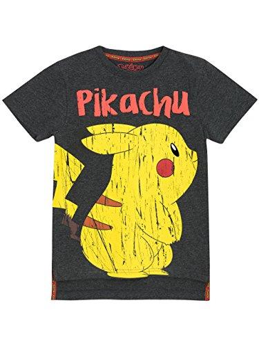 Pokemon Jungen Pikachu T-Shirt 140 cm