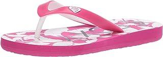 Roxy Women's RG Tahiti Sandal Flip-Flop, Pink/Pink 201, 12 M US Little Kid