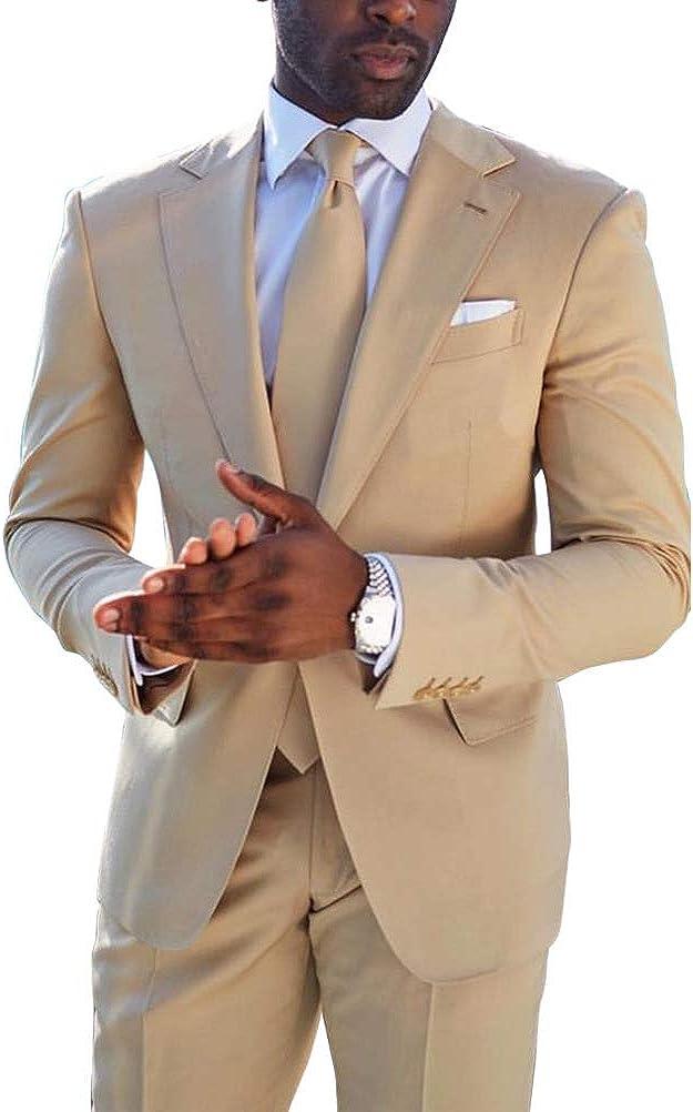 2019 Mens Business Formal Slim Fit Tuxedo Professional Grooms Wedding Dress Suit