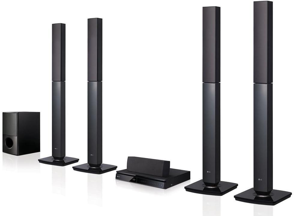 LG LHD657 Bluetooth Multi Region Free 5.1-Channel Home Theater Speaker System