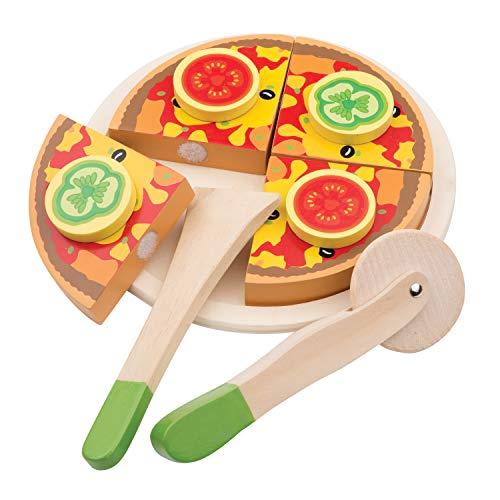 New Classic Toys-10587 New Classic Toys 0587-Set de Pizza y