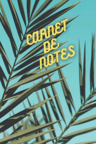 Carnet de notes - 100 pages: Carnet nature - 100 pages lignées papier crème - pour soi ou pour offrir