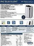 De'Longhi Pac EL92 Silent, Kunststoff, Weiß und Schwarz - 3