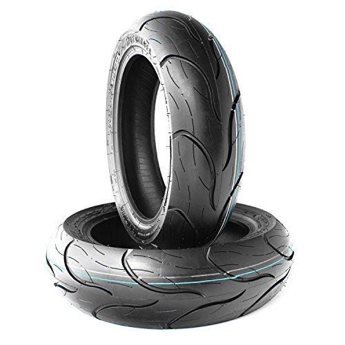 Innova Roller Reifen Set 2 x 120/70-12 51P MZ/MUZ Moskito 125, NIU N1s, Pegasus Corona 50, Sky 50, Solero 50 (Sidewinder)