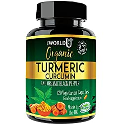 FORMULATED WITH THE FINEST INGREDIENTS - a perfect synergy between Organic Turmeric powder 500mg and Organic Black Pepper 10mg for greater absorption and enhanced bioavailability. These High Strength Turmeric capsules provide maximum efficiency with ...