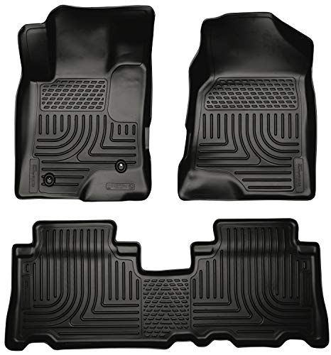 Husky Liners Fits 2012-16 Chevrolet Captiva Sport Weatherbeater Front & 2nd Seat Floor Mats