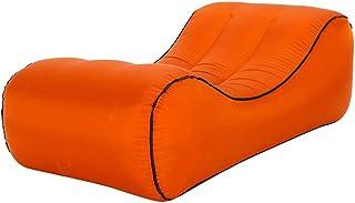 BHDYHM Sofá Inflable al Aire Libre, cómodo Duradero Grueso, sofá de Aire Blow Up Lounge Sofa Bolsa de Transporte