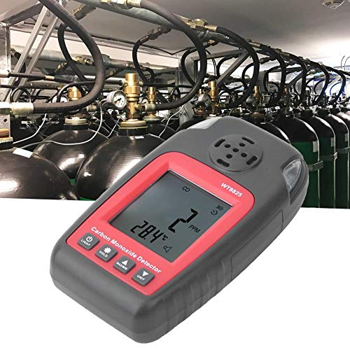 Kohlenmonoxid-Messgerät-Detektor - Tragbarer intelligenter Sensor Handheld CO-Testgerät für giftige Gase 0-1000 ppm