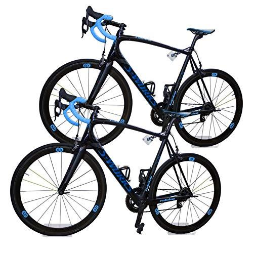 trelixx® Allround Fahrradwandhalterung | Sparset für 2 Fahrräder | Acrylglas | platzsparende Fahrradaufbewahrung | großartiges Design | leichte Montage | perfekt geeignet für verschiedene Radtypen