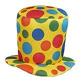 AEC CF000106 Chapeau Clown Haut de Forme Adulte, Taille Unique
