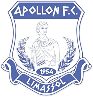 Apollon FC Limassol - Cyprus Football Soccer Futbol - Car Sticker - 4