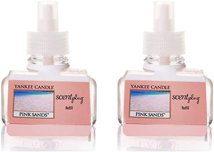 Yankee Candle Brand Cheap Sale Venue Pink Sands Scentplug Refill Bottles o 0.6 Pack Oz Fresno Mall