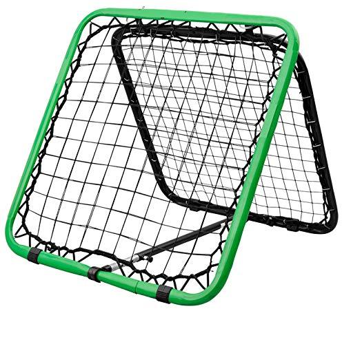 EODPOT Football Training Rebound Net, doppelseitiges Handball Rebound Net, Geeignet für Kinder und Jugendliche Fußball Training Training Campus Network