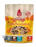 Real American turkey is the #1 ingredient Grain free soft textured meat bars that support healthy digestion Contains no added corn, wheat, or soy; no added artificial colors, flavors or chemical preservatives Feed as a treat, training aid or reward f...