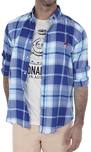 Altonadock PV18275020619 Camisa Casual, Multicolor (Cuadros), XX-Large (Tamaño del Fabricante:XXL) para Hombre