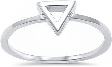 aa rings sterling silver