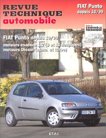 Fiat Punto depuis 10-99 - moteurs essence 1.2, 8 et 16 soupapes, moteurs diesel, atmo. et turbo