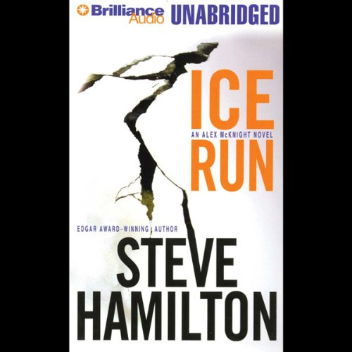 Ice Run audiobook cover art