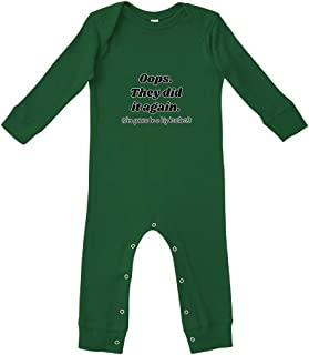 Oops They Did I'm Gonna Be A Big Brother! Bodysuit Legged Long Rib Coverall