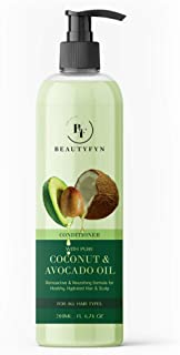 BEAUTYFYN Coconut Conditioner with Coconut & Avocado Oil No Parabens & Sulphate Hair Conditioner 200 ml
