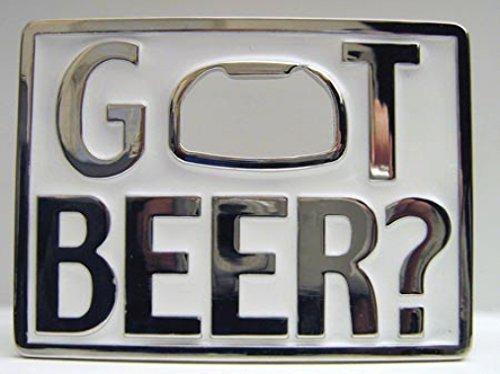 Hebilla Got Beer con abridor de botellas, cerveza, hebilla para cinturón