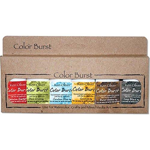 Ken Oliver Color Burst Powder 6/Pkg-Moroccan