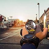 ZONSUSE Fahrrad-Rückspiegel, 360 ° verstellbar, Fahrradausrüstung, Fahrrad-Arm-Armband, sicherer Rückspiegel