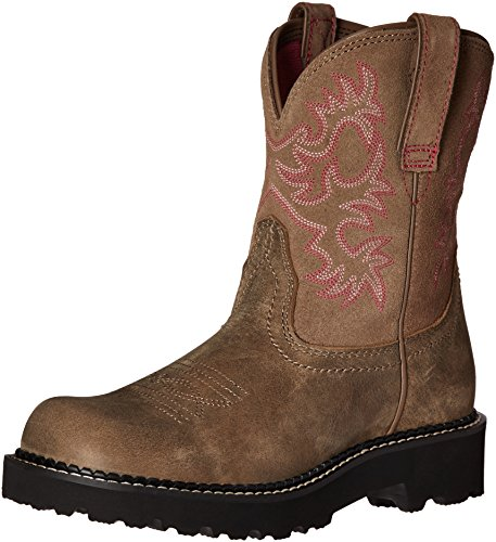 Ariat Women s Fatbaby Western Boot  Legacy Brown Bomber  10