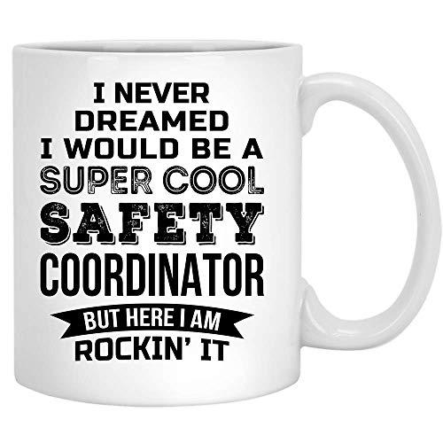 Lustige Sicherheitskoordinator Kaffeetasse Geschenke für Männer Frauen New Job Appreciation 11 Unzen Tasse