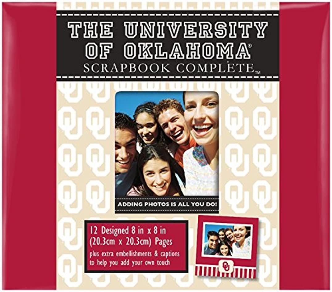 C.R. Gibson Scrapbook Complete Kit, Small, Oklahoma Sooners (C848405M)