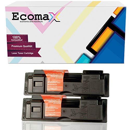Ecomax 2 Toner kompatibel zu Kyocera TK-18 für Kyocera FS-1018 MFP FS-1020D DN DTN FS-1118 F MFP Copystar CS-1820 - Schwarz 7.200 Seitenkapazität