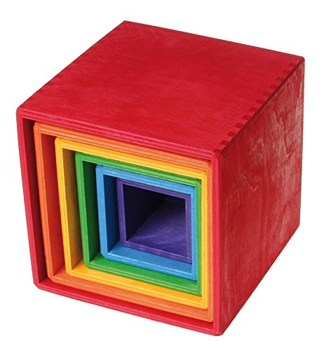 Grimm's Large Set of Colored Boxes