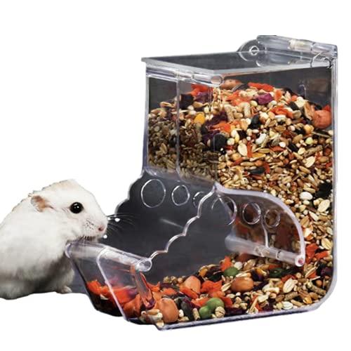 Daisy Stella 自動給餌器 ハムスター 餌入れ 小動物 エサ 食器 フード 餌やり ハリネズミ 鳥 モルモット フェレット 給餌器