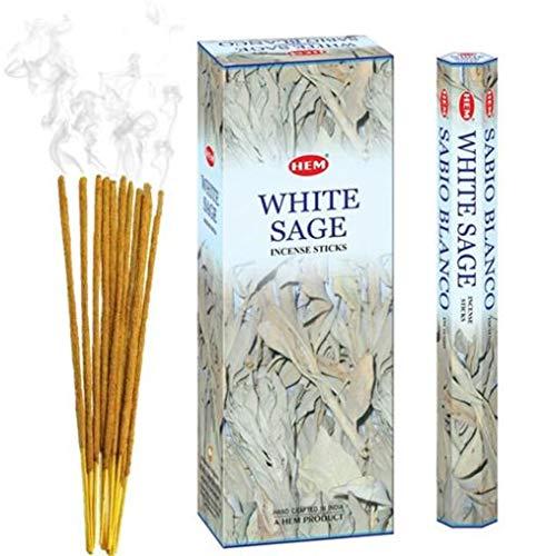 Hem White Sage Incense 120 Sticks Black)