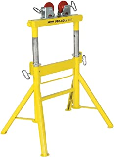 """Sumner Manufacturing 780441 Pro Roll with Steel Wheels, 29"""" to 43"""" Adjustable Height, 2,000 lb. Capacity"""