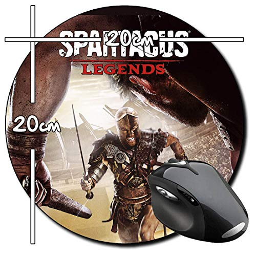 Spartacus Legends Rund Mauspad Round Mousepad PC