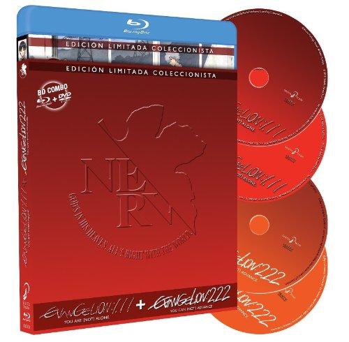 Evangelion 1.11 + Evangelion 2.22 - Edición...
