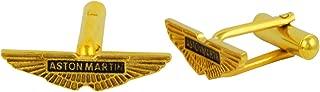 Fadkart Luxury Designer Aston Martin Super Car Logo Men's Cufflinks Wedding Cufflinks Gift Set for Men