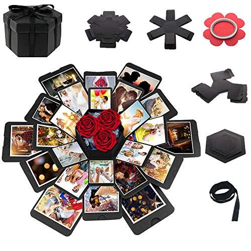 Explosion Gift Box,DIY Photo Album Scrapbooking,Surprise Love Box for Wedding Anniversary,Birthday Party